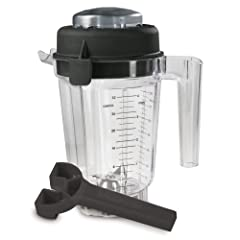 Vitamix Eastman Tritan Copolyester 32-Ounce Container with Lid and Wrench, No Blade