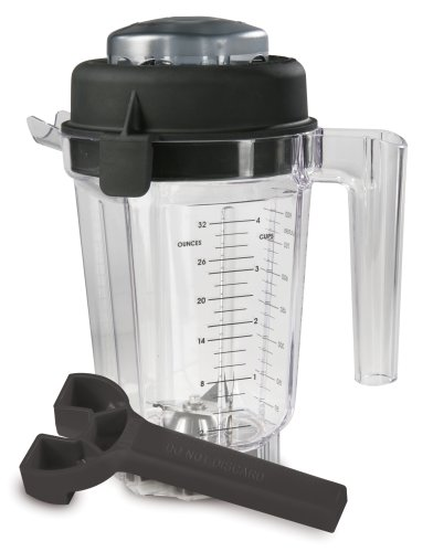 Vitamix-Eastman-Tritan-Copolyester-32-Ounce-Container-with-Lid-and-Wrench-No-Blade