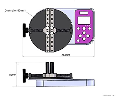 Nextech Model CTS Digital Cap Torque Tester 5N.m/44Lbf.in/50Kgf.cm, Peak/Track Mode, Pass/Fail LED, USB Output, Back-Lit Graphic LCD, Metal Enclosures