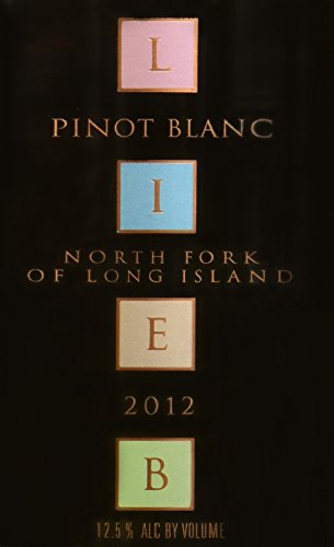 2012 Lieb Cellars North Fork Of Long Island Reserve Pinot Blanc 750 Ml