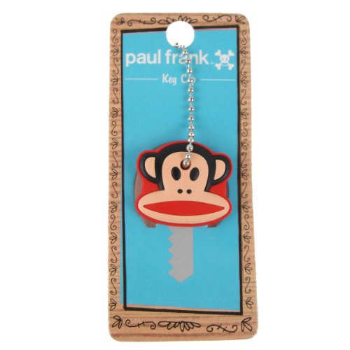 Paul Frank Julius Monkey Head Key Cap by Loungefly Paul Frank Key Ring