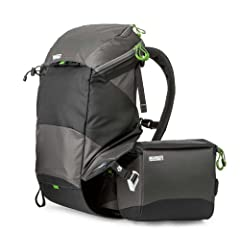 Mindshift Rotation 180 - Panorama Pro Backpack Waistpack Combo, Charcoal by Mind Shift Gear