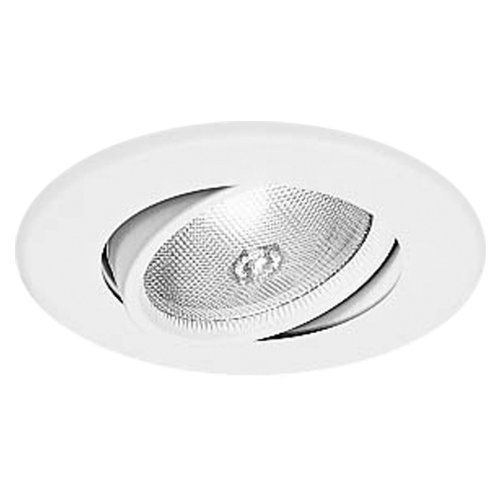 Halo Recessed 5060P 5-Inch Trim With Gimbal, White