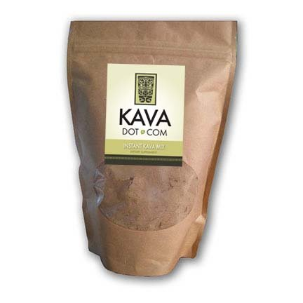 KavaDotCom Premium EasyStrain Instant Kava Powder for Anxiety, Sleep Aid, and Muscle Relaxation (8oz) (Kratom Powder Extract compare prices)
