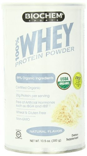Country Life 100% Organic Whey Protein Nutrition Beverage, Natural Flavor, 10.5 Ounce by Country Life New Zealand