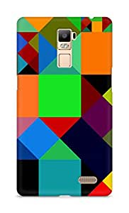 Amez designer printed 3d premium high quality back case cover for Oppo R7 Plus (Figures colorful)