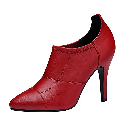TMates-Womens-Sexy-Pointed-Toe-Stiletto-Low-Top-PU-Leather-Pump