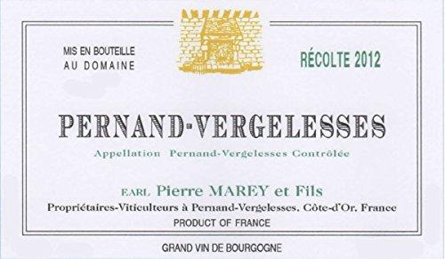 2012 Domaine Pierre Marey Et Fils: Pernand-Vergelesses 750 Ml