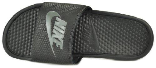 Cheap Nike Benassi JDI Men's Slides Slippers Black Midnight Fog Black 343880-013 (B008BL987G)