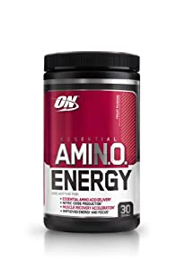 Optimum Nutrition Amino Energy 270 g Fruit Fusion Muscle Recovery and Energy Drink Powder