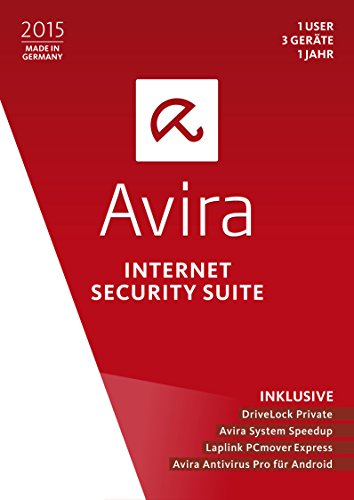 Avira Internet Security Suite 2015 – 1 User / 3 Geräte / 1 Jahr [import allemand]