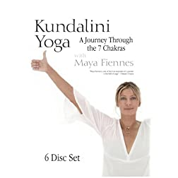 Kundalini Yoga: A Journey Through the 7 Chakras with Maya Fiennes - 6 DVD Set (Amazon.com Exclusive)