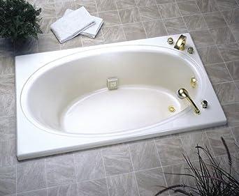 Jacuzzi Whirlpool Nova Oval Drop-In Tub - Drop In Bathtubs