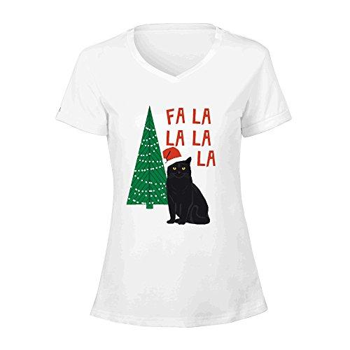 black-cat-cute-fa-la-la-christmas-xmas-tree-holiday-funny-cat-art-cat-lady-gift-unique-pet-gifts-wom