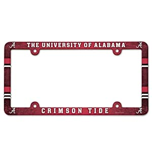 Buy Alabama Crimson Tide Full Color License Plate Frame by WinCraft