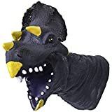 TEENA'S Tyrannosaurus Rex Hand Puppet Glove T-Rex Dinosaur Head Roleplay Playset Made Of Non-Toxic Soft Vinyl