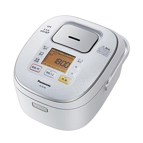 パナソニック 大火力おどり炊き IHジャー炊飯器 5.5合 スノーホワイト SR-HX105-W
