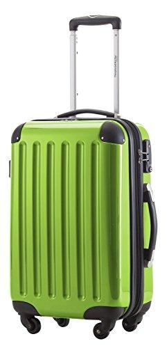 HAUPTSTADTKOFFER, Bagaglio a mano Rigida Alex, Taglia 55 cm, 42 Litri, Verde Mela, Lucchetto a combinazione e tag bagagli