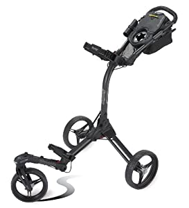 Bag Boy TriSwivel II Push Golf Cart, Matte Black by Bag Boy