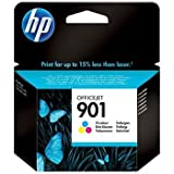 HP Officejet 4500 Wireless All-in-One Printer - G510n - HP 901 (CC656A) Original Colour Ink Cartridge