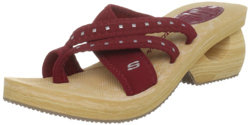 Skechers USA Women's Cyclers Gleamers Red Mules 38008 6 UK,US 9