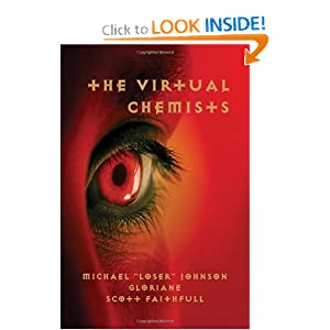 The Virtual Chemists Scott Faithfull, Gloriane and Michael Loser Johnson