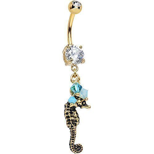 handcrafted-clear-frisky-seahorse-dangle-belly-ring