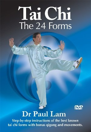Tai Chi - 24 Forms DVD By Dr. Paul Lam****UPDATED!!!****