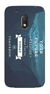 Kaira High Quality Printed Designer Back Case Cover For Motorola Moto G4 Play(82)
