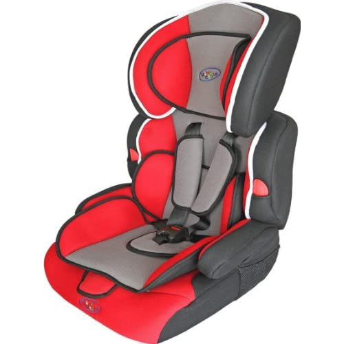 Bebe Style Deluxe Group 1 2 3 Combination Car Seat (Red)