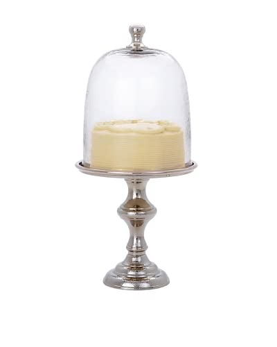 Torre & Tagus Damant Hammered Aluminum Cake Stand