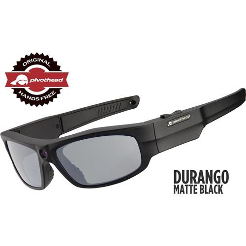 Pivothead Durango HD 1080p Video Glasses, Matte Black