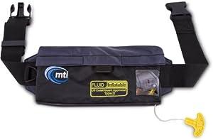 Buy MTI Adventurewear Fluid Inflatable Belt Pack PFD Life Jacket by MTI Adventurewear