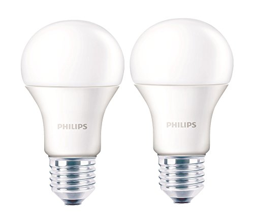 Philips 12W E27 LED Bulb (Warm White, Pack of 2)