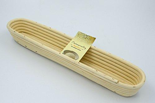 MasterproofingÃÂ'Ã'® Long Banneton Basket-- 44*9*5.5cm by Masterproofing