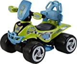 Fantastic Chad Valley 6V Blue and Green Baby Quad Bike --