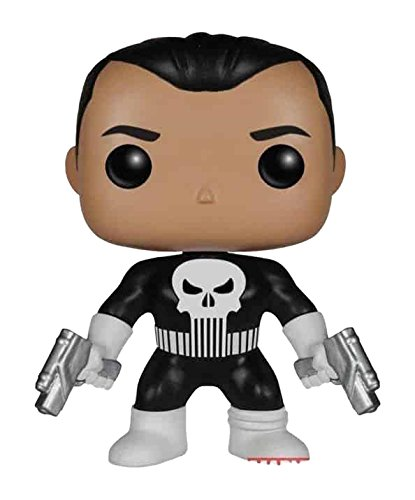 Marvel Comics Pop! Vinyl Bobble Head The Punisher Exclusive 9 Cm Funko