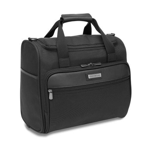 Hartmann Luggage Intensity Vertical Satchel, Black, One Size B0061I88F4