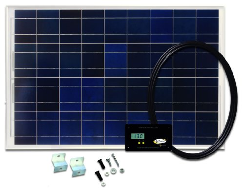 Go Power! GP-RV-80 80-Watt Solar Kit with 30 Amp Digital Regulator (80w Solar Panel compare prices)