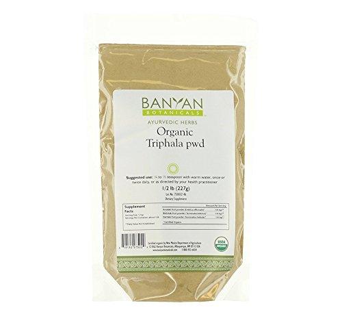 Banyan Botanicals Triphala Powder - USDA Organic, 1/2 Pound - Balancing Formula for Detoxification & Rejuvenation* (Liver Purifier 5 compare prices)