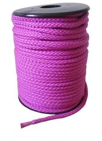 Bondage Seil Fesseln 8mm Baumwolle in pink ab 1 Meter