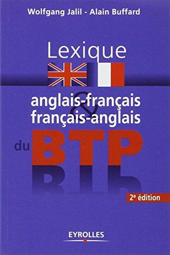 Dictionnaire anglais francais francais anglais du genie for Dictionnaire architecture et construction