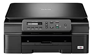 Brother DCP-J132W A4 All-In-One Colour Multifunction Wireless Inkjet Printer