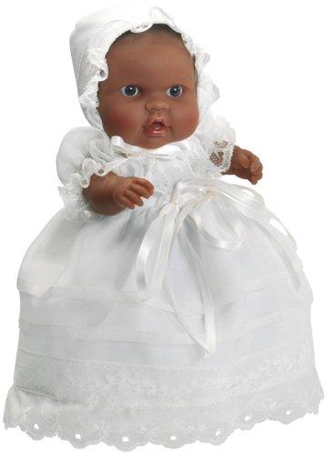 Paola Reina - 01141 - Poupée - Petit garçon en tenue de baptême - Colection Les Peques Baptême - 22 cm