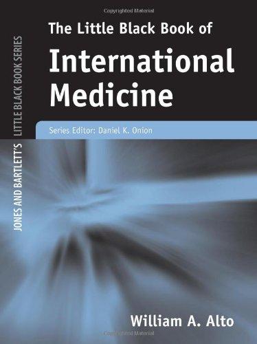 Little Black Book Of International Medicine (Jones And Bartlett'S Little Black Book)