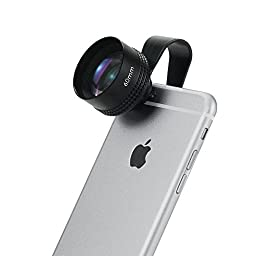 Apexel APL-60mm 2X Telephoto Lens with Universal Clip for Smart phones