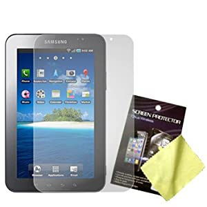 Cbus Wireless Three LCD Screen Guards / Protectors / Film for Samsung Galaxy Tab P1000