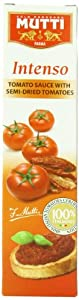 Mutti Intenso Tomato Sauce with Semi-Dried Tomatoes, 0.34 Pound (Pack of 12)