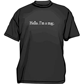 Hello. I'm a mac. Kids T Shirt 2T thru Youth XL