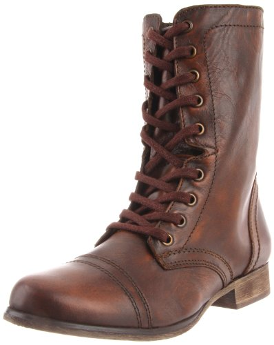 Steve Madden Troopa Womens Size 8.5 Brown Fashion Mid-Calf B